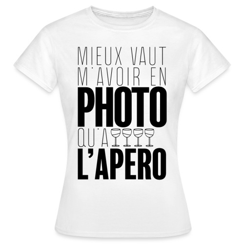 Apérophile - T-shirt Femme