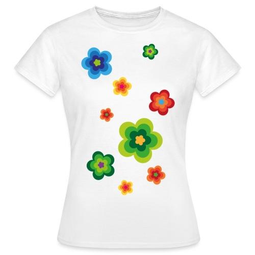 Limited edition 01 Flowerpower - Frauen T-Shirt