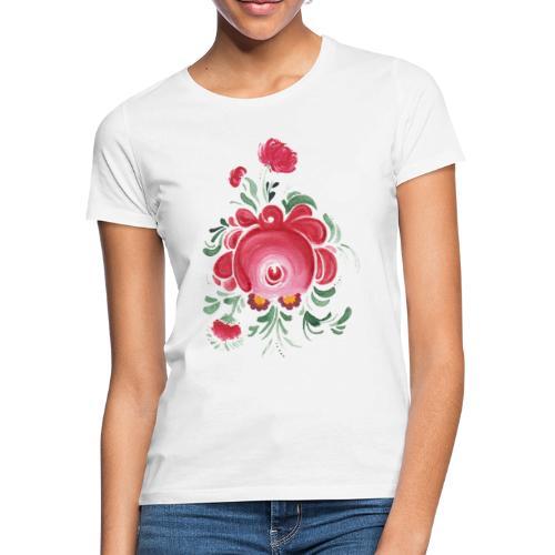 Ostfriesische Rose - Frauen T-Shirt