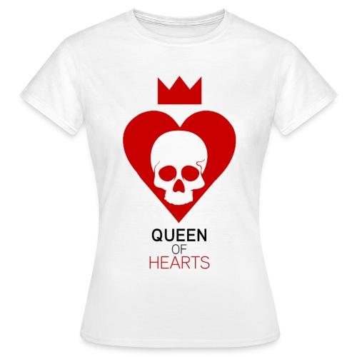 Tee shirt manches longues Reine des Coeurs - T-shirt Femme