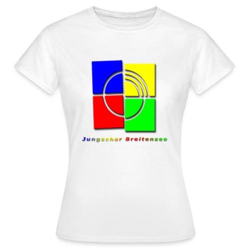 junschar logo bunt t - Frauen T-Shirt