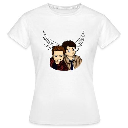 Destiel i farver - Dame-T-shirt