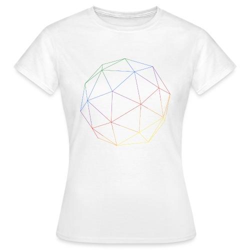 RAINBOW CUBE - Frauen T-Shirt