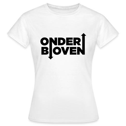 LOGO_ONDERBOVEN - Vrouwen T-shirt