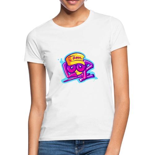 Graffiti I AM LOOP - Frauen T-Shirt