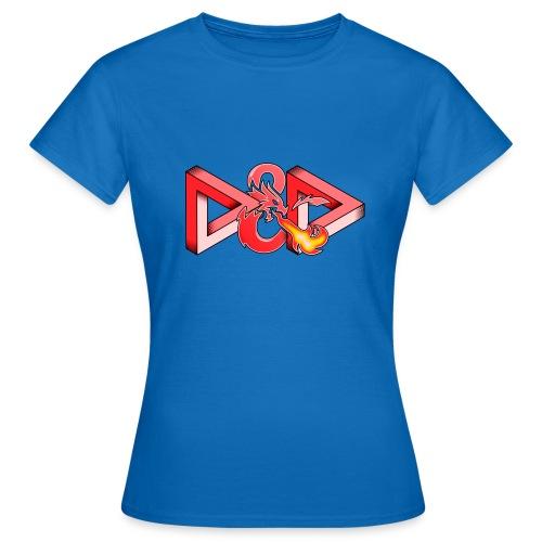 Pysyvät Dungeons and Dragons - dnd d & d - Naisten t-paita