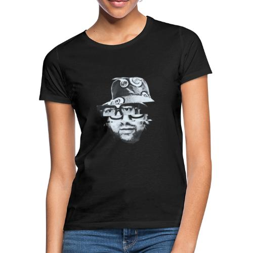 Scrambled Head Black / White - Women's T-Shirt