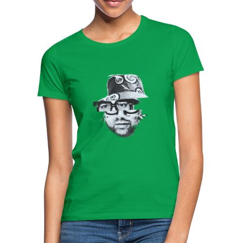 Scrambled Head Black / White - Women's T-Shirt