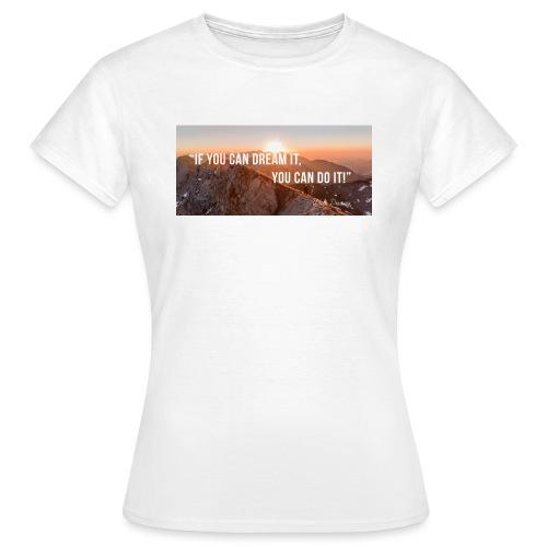 Motivation Job seekers - Women's T-Shirt