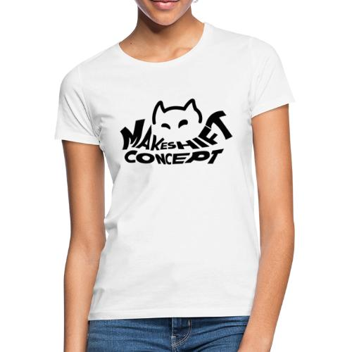 Makeshift Concept Logo Black - Frauen T-Shirt