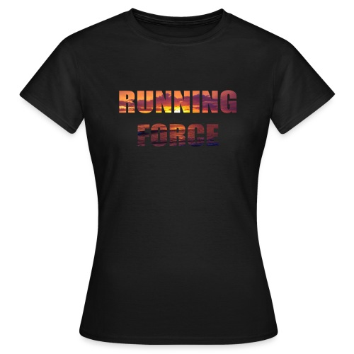 Logo-Shirt RUNNINGFORCE - Frauen T-Shirt