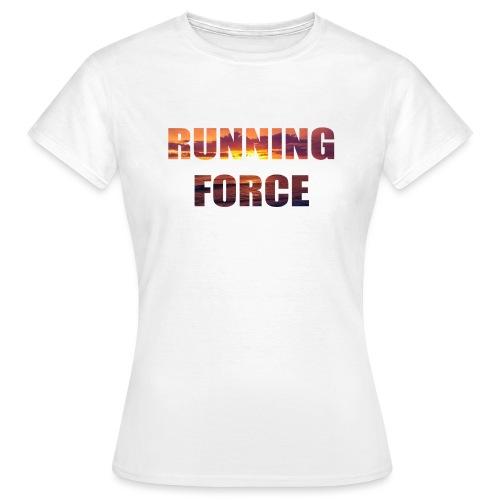 Logo-Shirt RUNNINGFORCE - Frauen T-Shirt