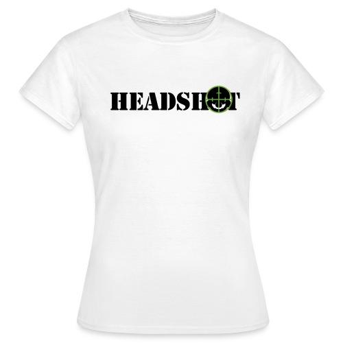 headshot4h - Maglietta da donna
