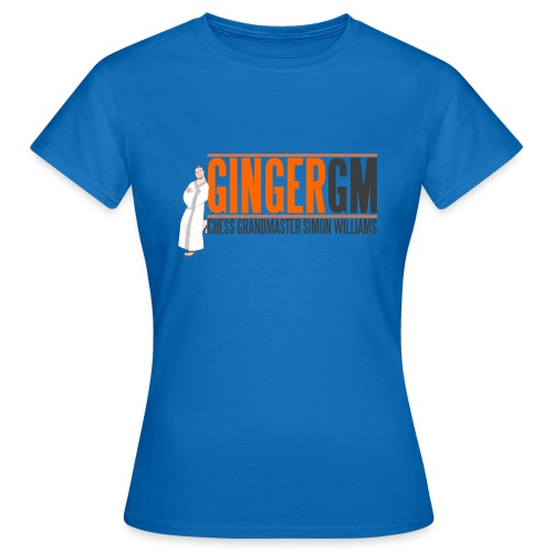 Ginger GM Logo - Women's T-Shirt