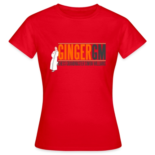 Ginger GM Logo - Women's T-Shirt