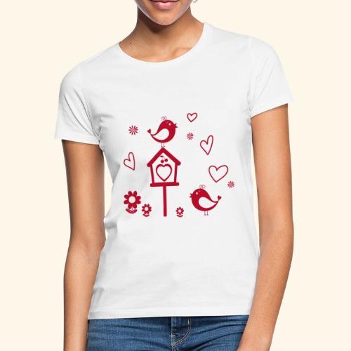 Casita para pájaros - Camiseta mujer