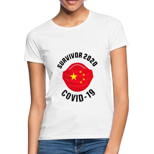 Survivor Covid 19 China - Camiseta mujer
