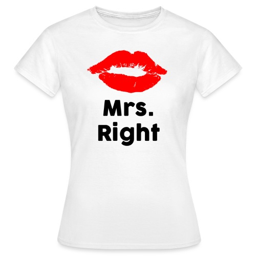 Mrs Black - Frauen T-Shirt