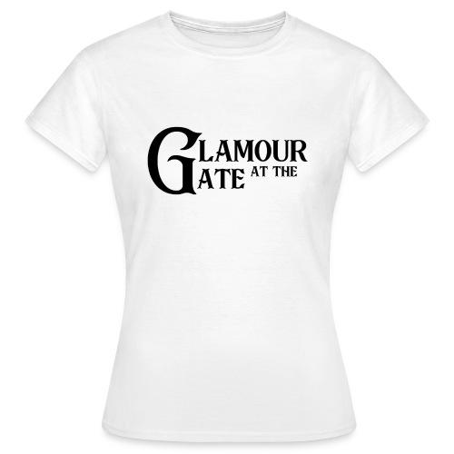 LOGO Glamour at the Gate Noir - T-shirt Femme