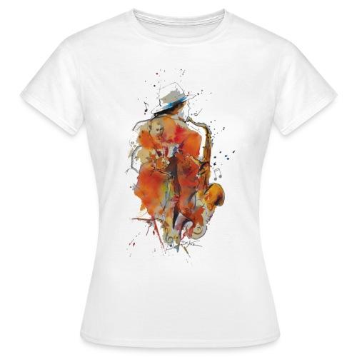 Jazz men - T-shirt Femme
