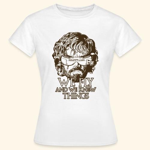 IntoFPV - GOT T-Shirt (Light Color) - Women's T-Shirt