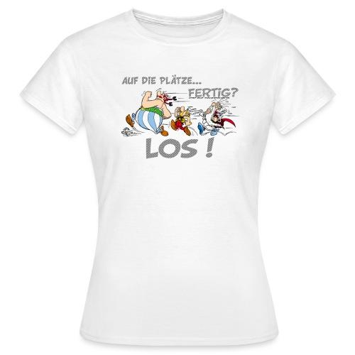 Asterix Obelix Auf die Plätze... Fertig? Los! - T-shirt Femme