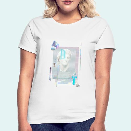 Glitch art - Dame-T-shirt