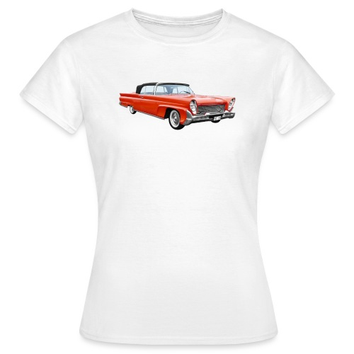 Red Classic Car - Vrouwen T-shirt
