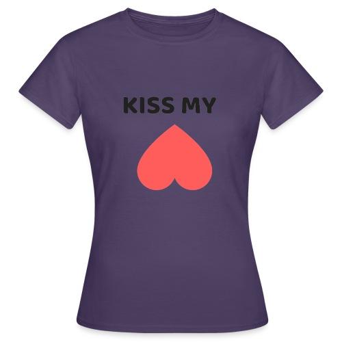 Kiss My Ass - Koszulka damska