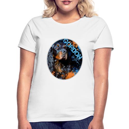 Gordon Setter Splash II - Naisten t-paita