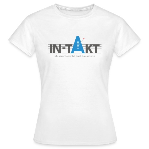 IN-TAKT Musikunterricht Logo Lovers - Frauen T-Shirt