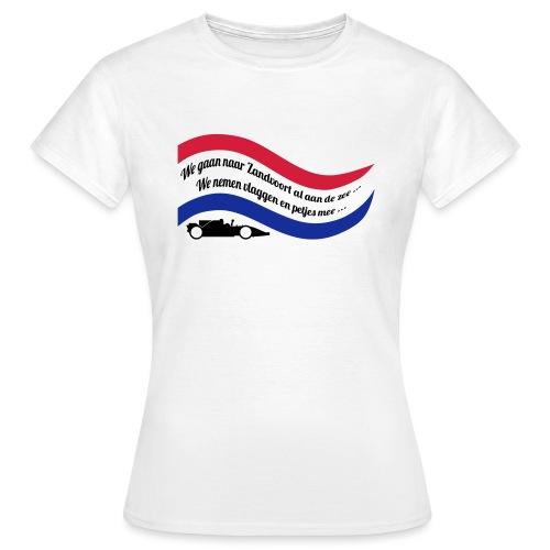We gaan naar Zandvoort al aan de zee - Vrouwen T-shirt