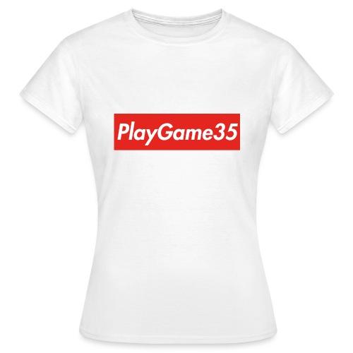 PlayGame35 - Maglietta da donna