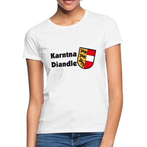Karntna Diandle - Frauen T-Shirt