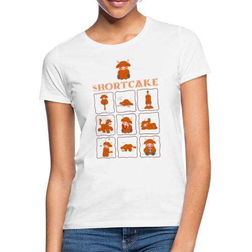 Shortcake - Multiview - Frauen T-Shirt