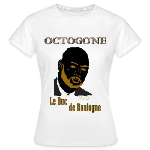 OCTOGONE Le Duc de Boulogne by VAyiD - T-shirt Femme