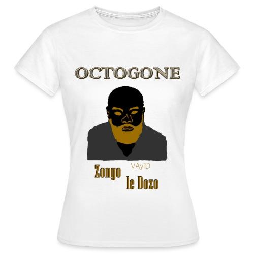 OCTOGONE Zongo le Dozo by VAyiD - T-shirt Femme