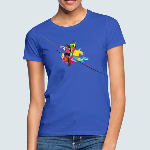 Farbenquadrat - Frauen T-Shirt