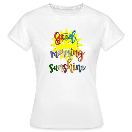 Good morning ,Good morning sticker - T-skjorte for kvinner
