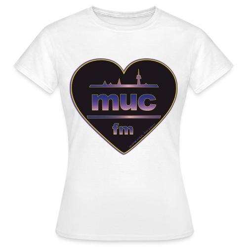 muc fm - Frauen T-Shirt