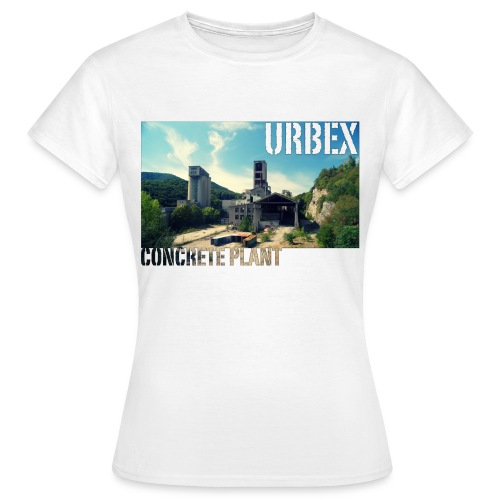 Concrete Wide - Frauen T-Shirt