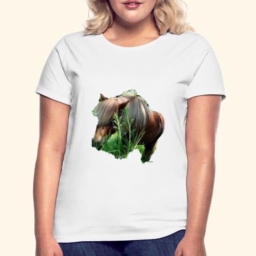 tee-shirt poney - T-shirt Femme