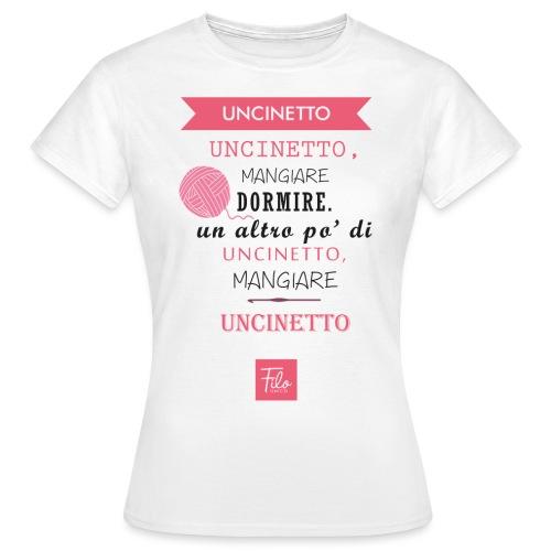 Uncinetto quotidiano - Maglietta da donna
