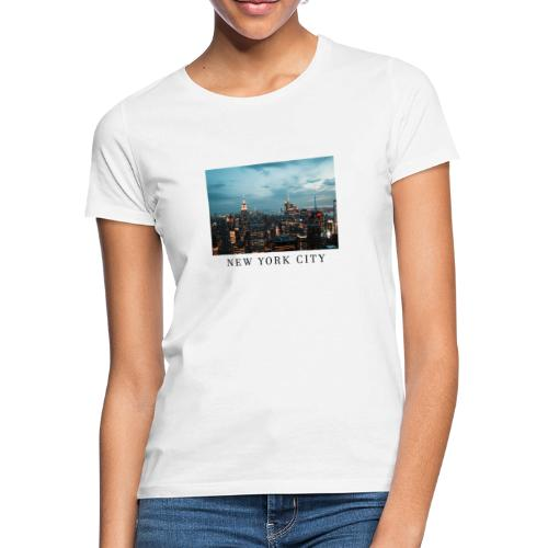 NEW YORK CITY, new york, new york photo, big city - Women's T-Shirt