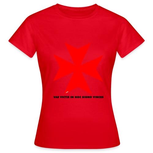 TEMPLIERS NOIR - T-shirt Femme