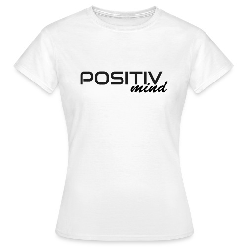 positiv mind 1 - Frauen T-Shirt