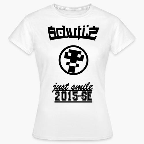 T-Shirt 5 Zwart - Vrouwen T-shirt