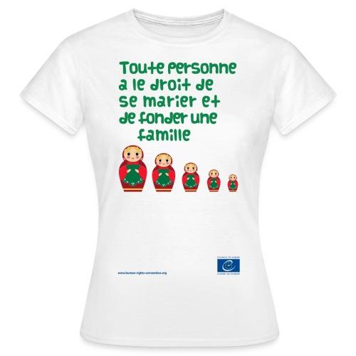 png franais6 - T-shirt Femme