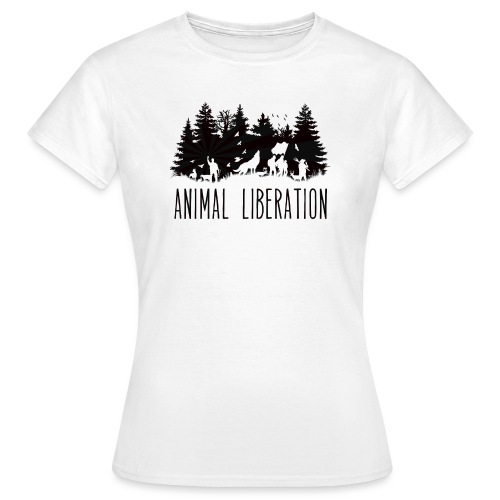animal liberation - T-shirt Femme