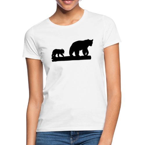 Bären Bär Grizzly Wildnis Natur Raubtier - Frauen T-Shirt